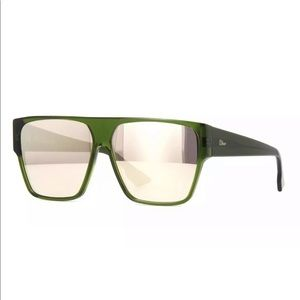 Christian Dior HIT Green Olive Gold Mirrored